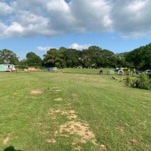 Camping field hobby farm