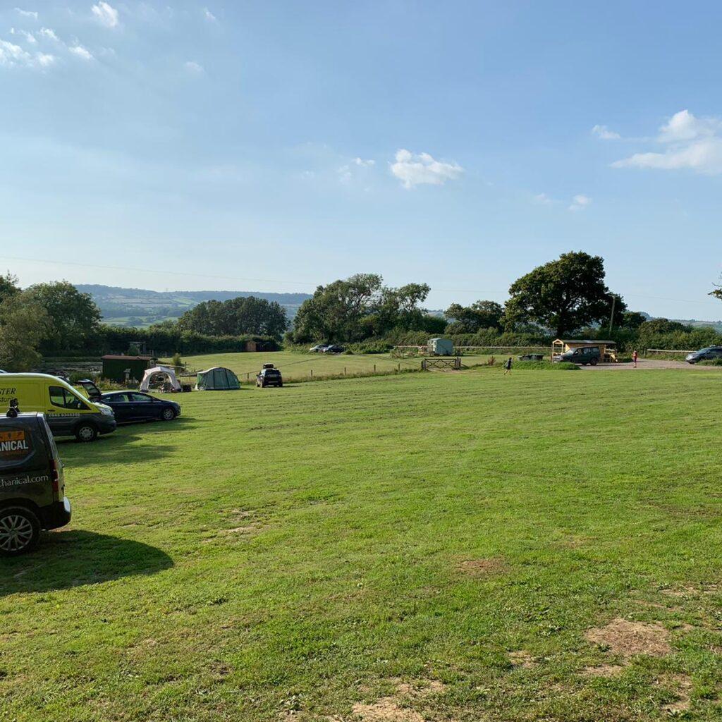 hobby farm camping field